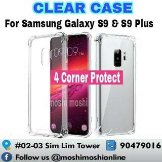 Samsung Galaxy S9/S9 Plus Clear Case (4 Corner Protect)