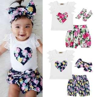 babies' casual wear set