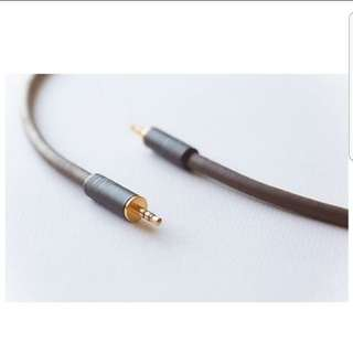 Belden 8402 with Switchcraft 3.5mm Plug, Audiophile 3.5mm Interconnect Cable