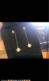 Chanel 特別版 吊珠+閃石耳環 全新購自法國