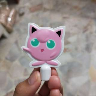 Jiggly puff pencil topper