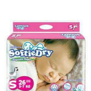 Softie Dry Diapers