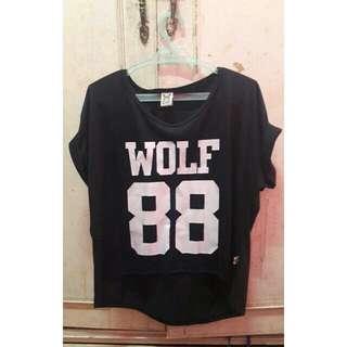 Wolf 88 crop top