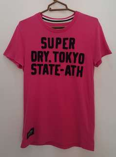 Authentic SUPERDRY Pink Tee