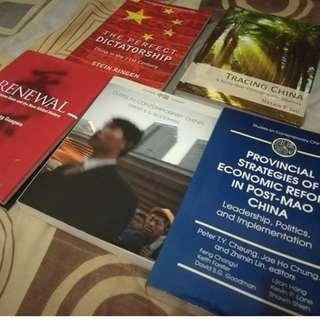 Brand New Books About China