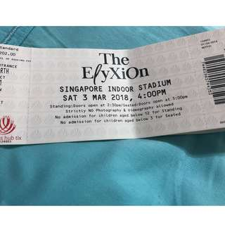 Exo concert ticket for sale -2 - final