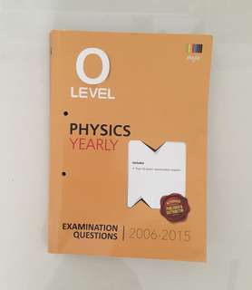 Physics O level TYS