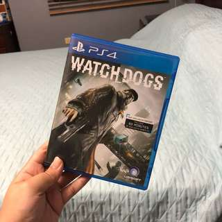 Watchdogs (PS4 GAMES)