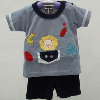 Baju setelan bayi laki2