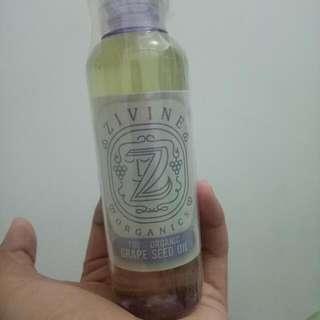 Zivine Organics Grapeseed Oil