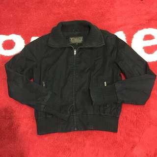 Jaket giordano hitam