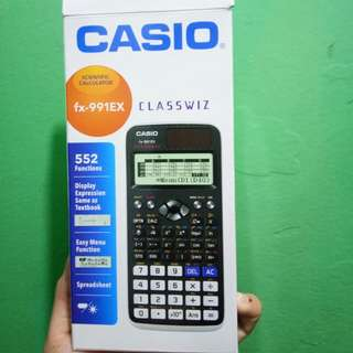 Casio 991EX scientific calculator