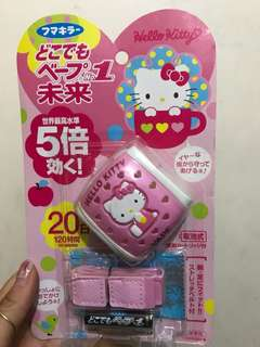 日本正貨Hello Kitty 蚊機