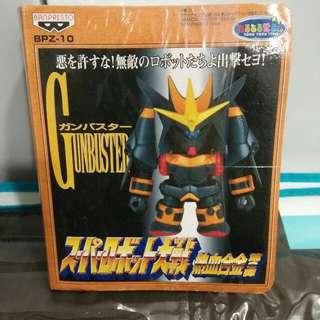 "BNIB! 1999 Vintage Japanese Anime ""Gunbuster"" Action Figurine"