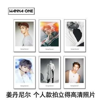WANNA ONE KANG DANIEL POLAROID SET
