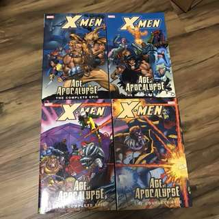 X-men Complete Age of Apocalypse TPB 1-4