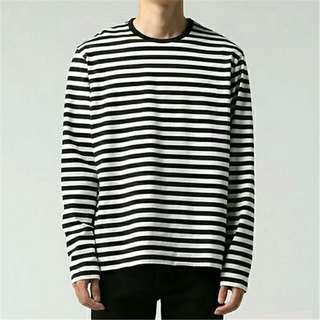 PO: Striped Pullover