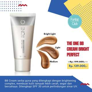 The ONE BB Cream Bright Perfect