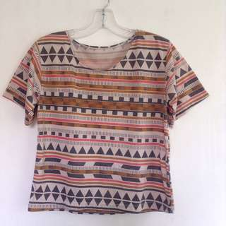 100 PESOS ONLY    💖 Colorful Aztec top 💖 Free size 💖 100 pesos + SF/HF . . 🙂🙃 Bogus buyers, joy reservers, & those who cancel their order/s WILL BE POSTED 🙂🙃 #HermanaMNL  #HermanamnlAVAIL ✨