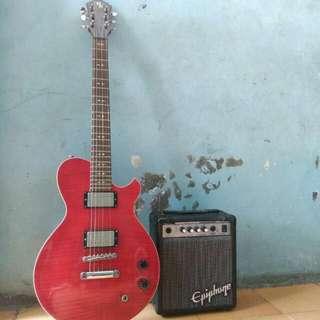 Gitar listrik MK & sound Epiphone