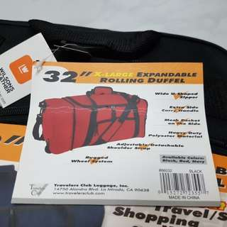 Expandable Bag With Wheels