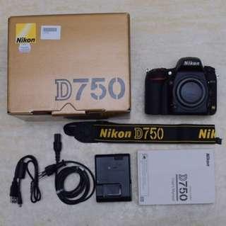 Nikon D750 Used Like New