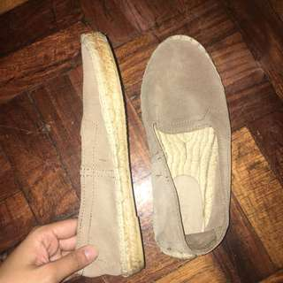 Gap Abaca Slip On Shoes Size 35-36 Suede