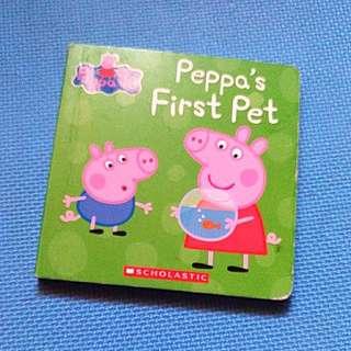 Used Peppa Pig board book