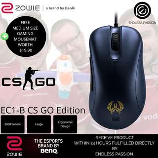 BenQ Zowie EC2B / EC1B Gaming Mouse
