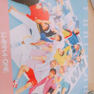 WANNA ONE TO BE ONE POSTER