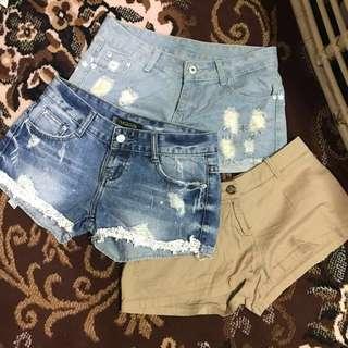 Sexy shorts bundle #5 size 27-28