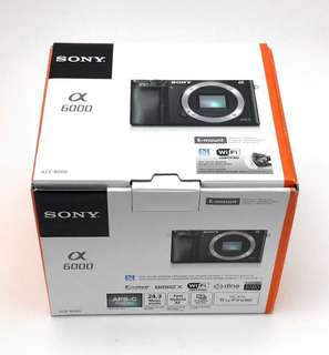 BNIB Local Set Sony a6000 (Body only)