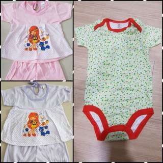 Baju Baby set of 3 only rm25