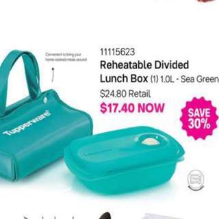 Tupperware Reheatable Lunch Set (Free delivery)