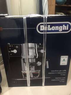 Delongi EC820.B 自動清洗黑色咖啡機 coffee maker
