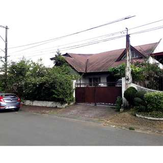 New Listing - For Sale LOT with Old House in Don Enrique Heights Quezon City