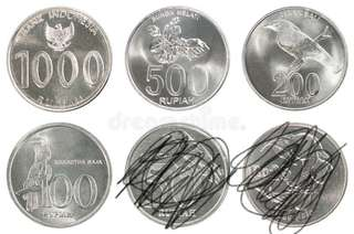 indonesian coin set
