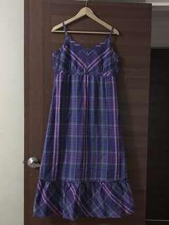 Espirit Multicoloured Stripe Maxi Dress