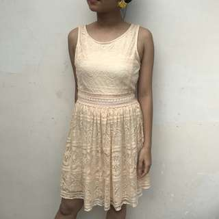 FOREVER 21 Nude Dress