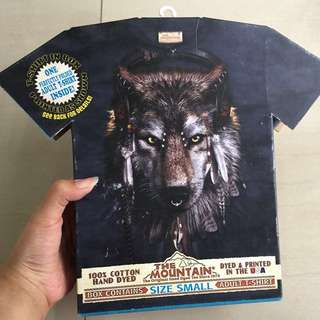 The Mountain T-shirt (Grey Wolf)