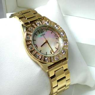GUESS LADIES MOTHER OF PEARL WATCH G95483L.