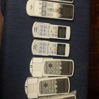 Un used Air cond remote
