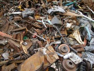 Scrap metal collection service