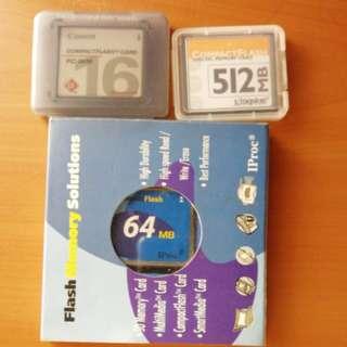 Compact flash digital memory card