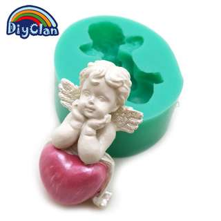 10059 - Angel with Heart Mold