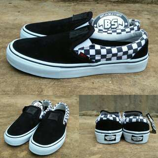Vans x slipon thrasher checkerboard