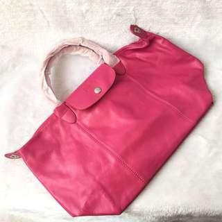 Longchamp Le Pliage Leather