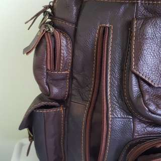 Morrocan Multi-pocket Travel Bag