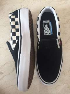 Vans x Thrasher Slip on Pro Checkerboard