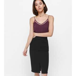 Love Bonito Pheane Pocket Midi Skirt (XS)
